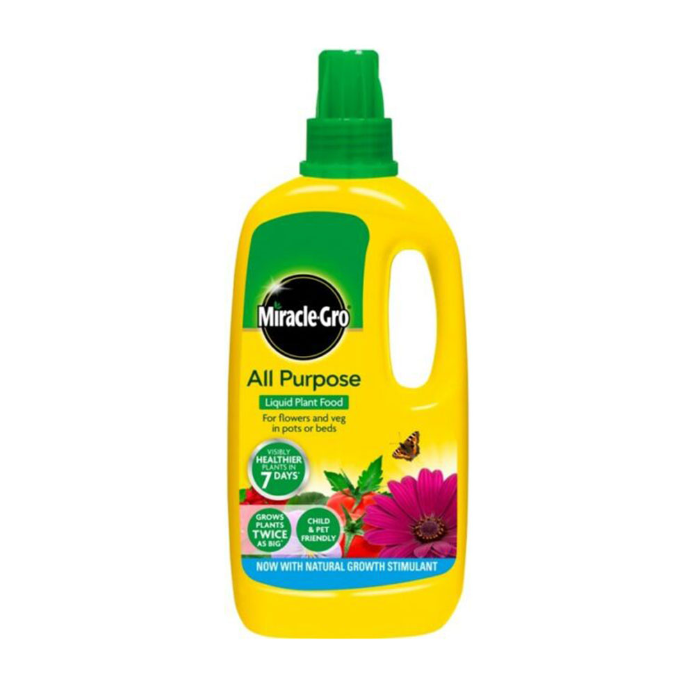 1L Miracle Gro All Purpose Concentrated Liquid Plant Food ...