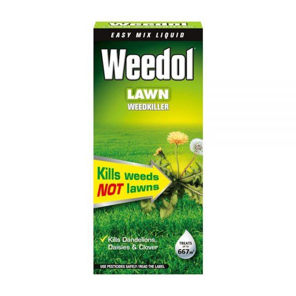 1L Weedol Lawn Weedkiller 667m2 £13.99