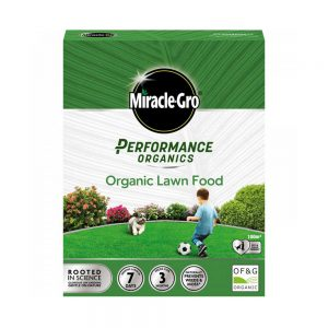 2.7kg box Miracle-Gro® Performance Organics Lawn Food 9.99