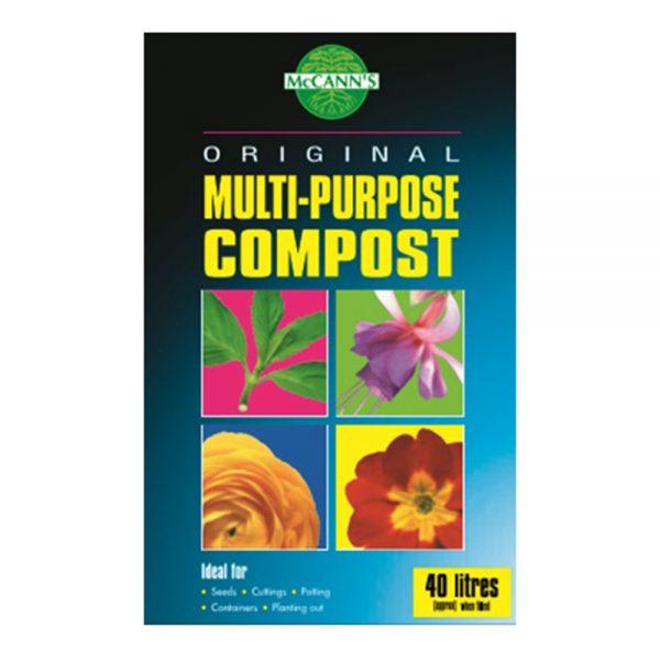 40L Multi Purpose Compost 4.50 (2for7.50)