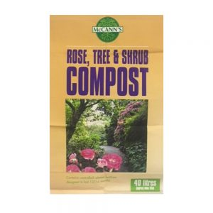 40L Rose, Tree & Shrub Compost 4.50 (2for8)