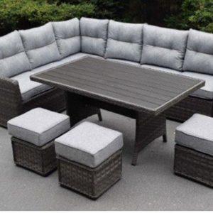 Amalfi Polywood Casual Sofa Dining Set £1365 Flatpack £1325