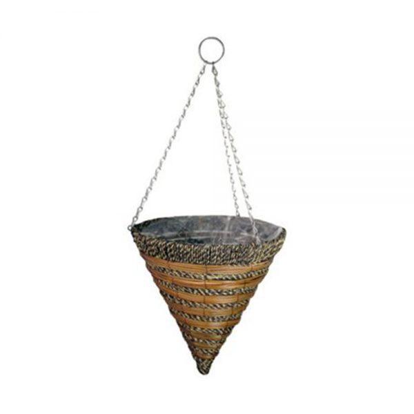 Gardman Sisal Rope & Fern Hanging Cone 35cm £8.99