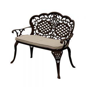 MCA-261-BRC Ballygowan Love Seat (H'BronzeCream) £225 Flatpack £200