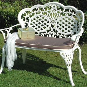 MCA-261-CRC Ballygowan Love Seat (H'Cream-Choc) £225 Flatpack £200