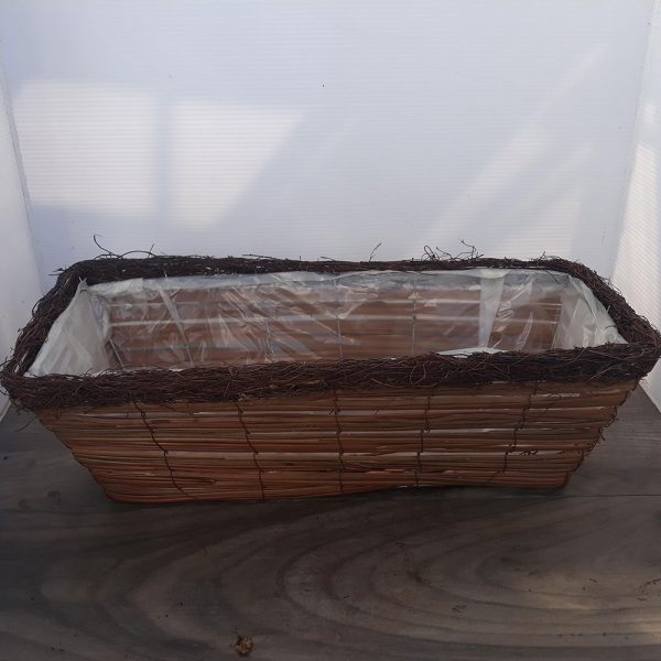 Wicker Window Box Large 52cm £4.99