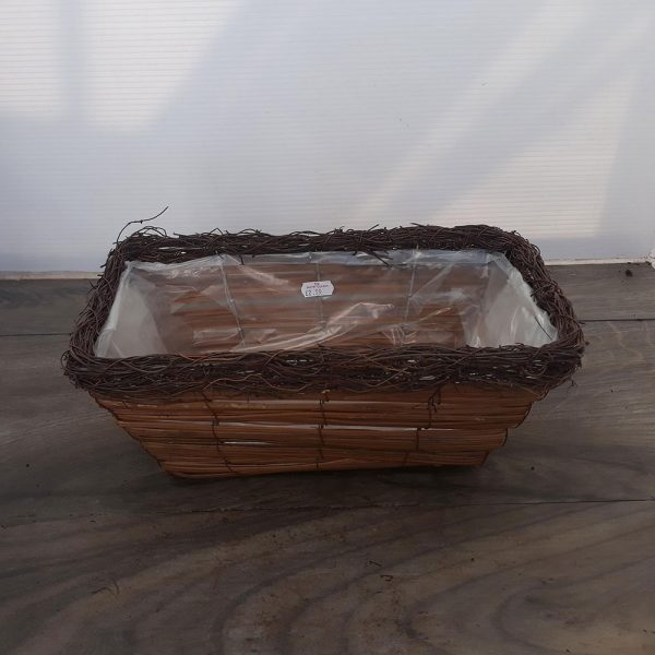 Wicker Window Box Small 32cm £2.99