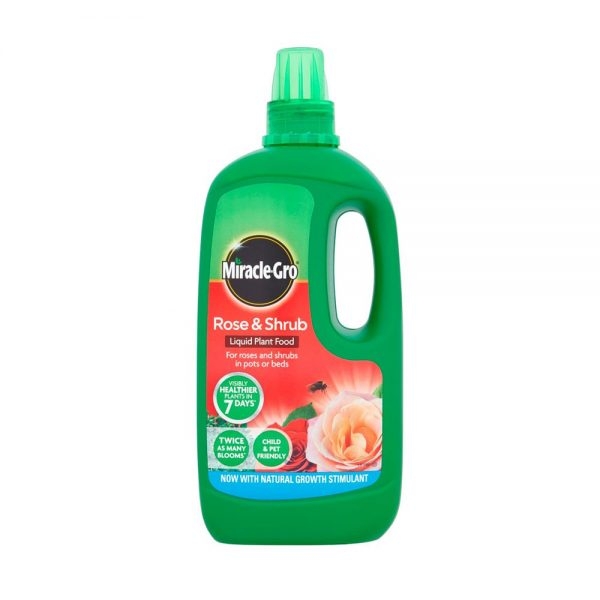1L Miracle-Gro Liquid Rose and Shrub Plant Food