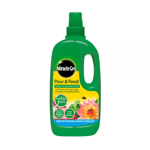 1L Miracle-Gro Pour & Feed Ready to Use Plant Food