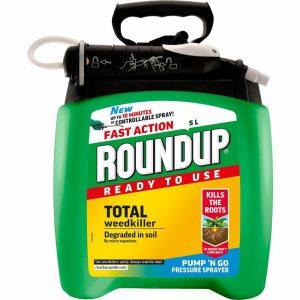 5L Roundup Weedkiller Pump'N Go