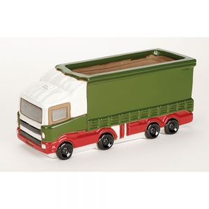Glazed Lorry Planter