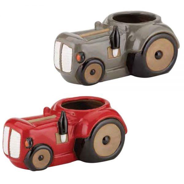Glazed Novelty Tractors