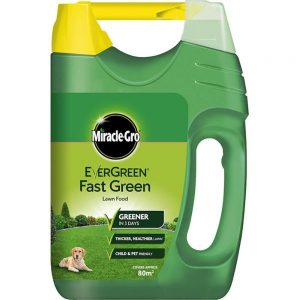 Miracle Grow Evergreen Fast Green Lawn Food 80m2