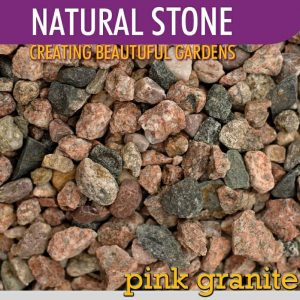 Stone 20kg Pink Granite