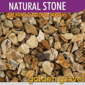 Stone Golden Gravel 20mm