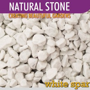 Stone White Spar 15mm