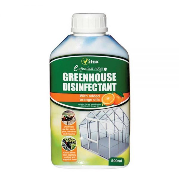 Vitax Greenhouse Disinfectant 500ml