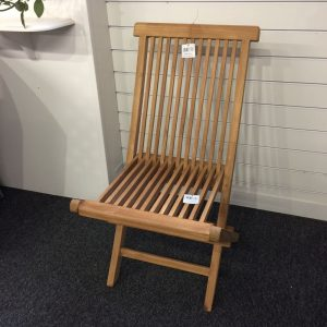 Java Folding Wooden Chair