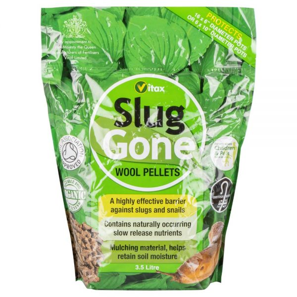 Vitax Slug Gone Wool Pellets