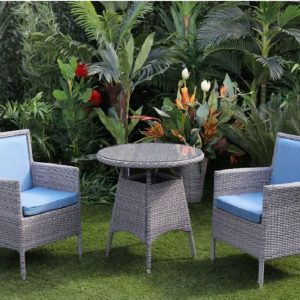 Windsor 2 Seater Blue Bistro Set