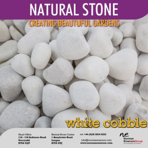 Stone White Cobble 40-80mm
