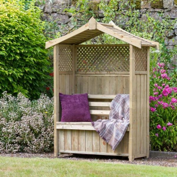 Dorset Arbour with Storage Box