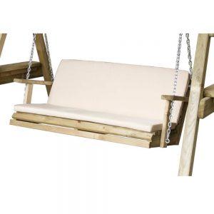 Miami Swing 2 Seater Seat Pad Stone