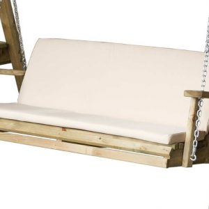 Miami Swing 2 Seater Seat Pad Stone