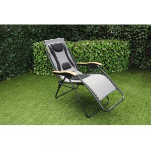 Grey Zero Gravity Relaxer Chair (MPA-600)