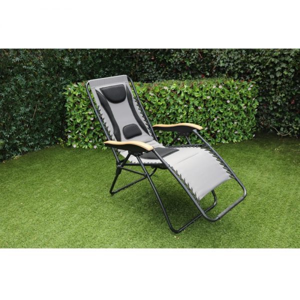 Grey Zero Gravity Relaxer Chair (MPA-600)