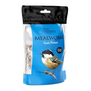 0.9kg Tom Chambers Mealworm Suet Pellets