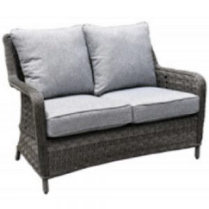 Amalfi 2-Seat Bench - Dark Grey (MJT-650)