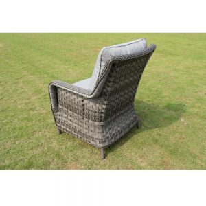 Amalfi 2 Seater Coffee Set - Dark Grey (MJT-652) Chair