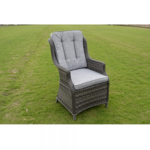 Amalfi 6 Seat Set - Dark Grey (MJT-622) Chair