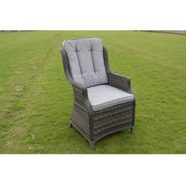 Amalfi 6 Seat Set - Dark Grey (MJT-622) Chair