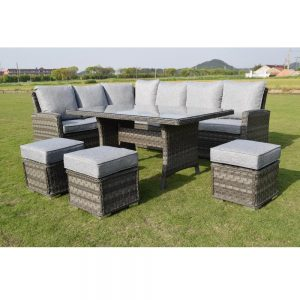 Amalfi Casual Sofa Dining Set - Dark Grey (MJT-745) View