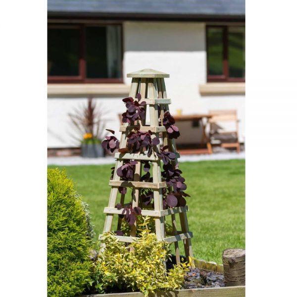Scafell Obelisk Flowers