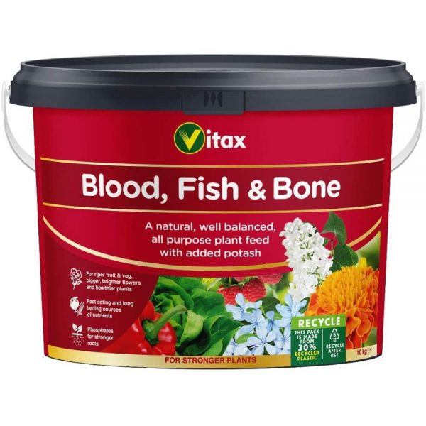Vitax 10kg Blood, Fish & Bone