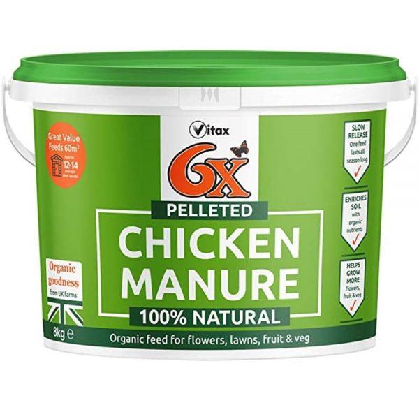 Vitax 10kg Chicken Manure